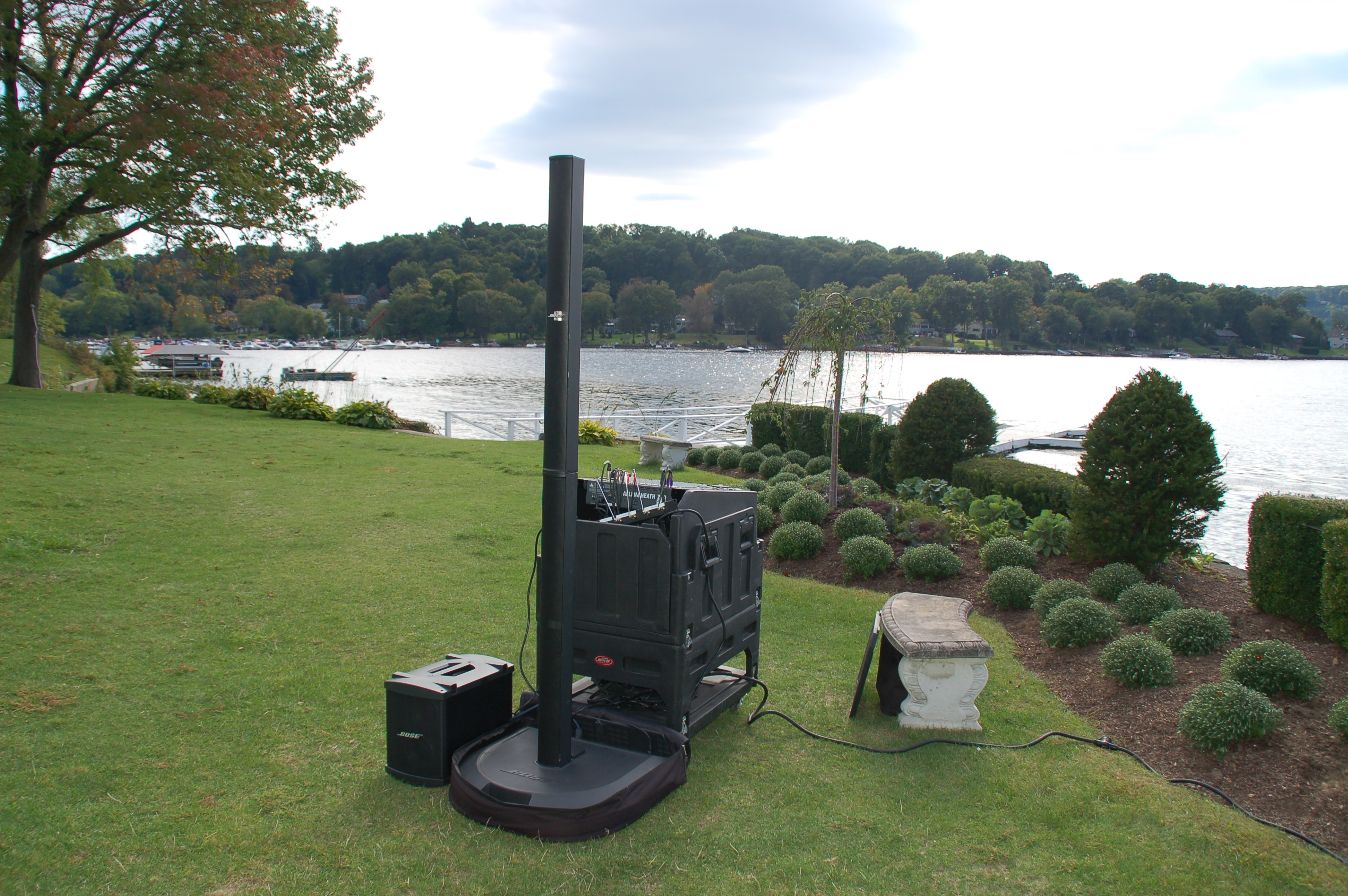Wireless Speakers Connect Your Wedding Connecticut Wedding Dj