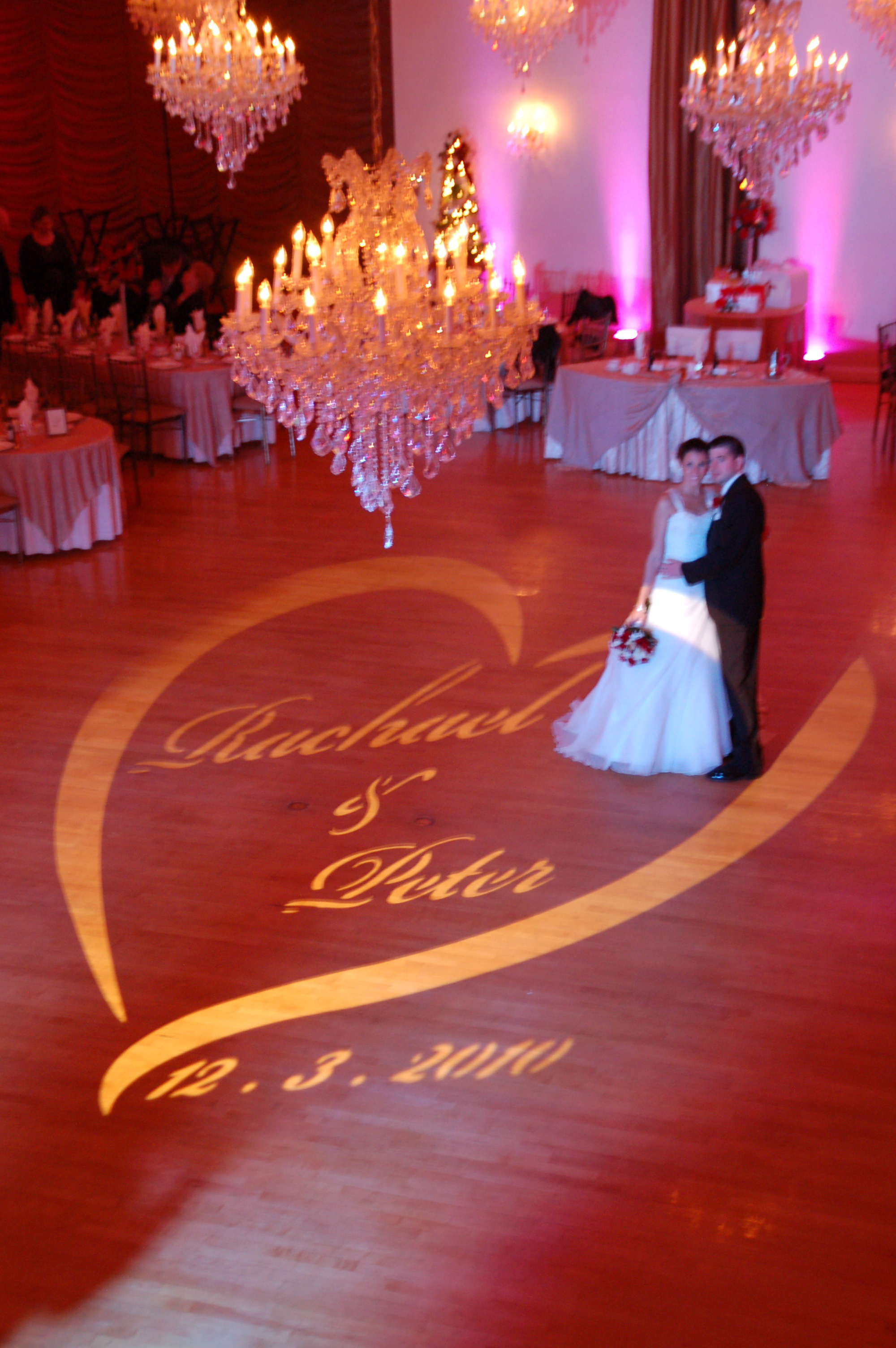 Personalize Your Event With A Monogram Connecticut Wedding Dj