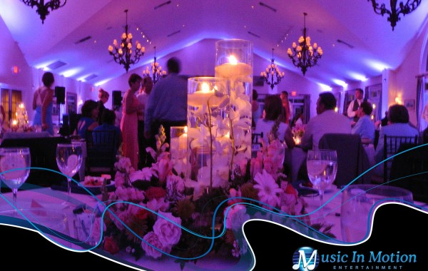 Connecticut Wedding Lighting